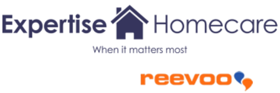 Expertise Homecare and Reevoo logos