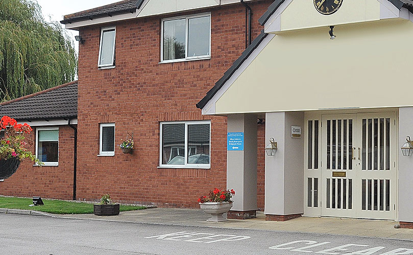 Crawfords Walk Care Home Chester