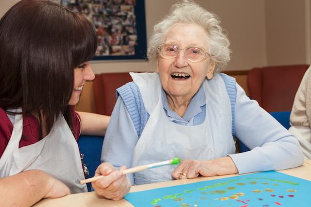 Nellsar homes woodstock residential home sittingbourne in for Crafts to make for nursing homes