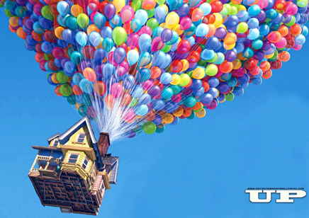 From the Pixar movie - UP