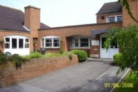 View of Brookside Care Home, Melksham Wiltshire