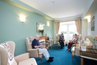 Interior of care home